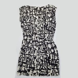 DVF elastic waist mini dress